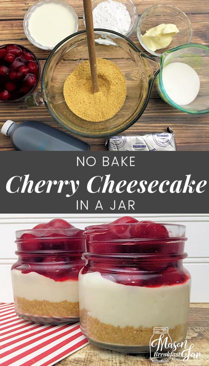 Easy Mini Cheesecake Recipe No Bake Cheesecake In A Jar