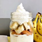 Cake in a Jar Recipe: No Bake Banana Cheesecake