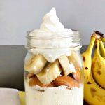 Cake in a Jar Recipe: No Bake Banana Cheesecake