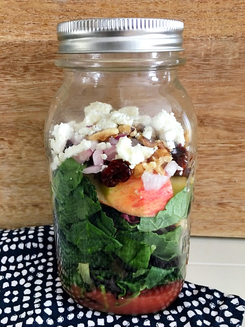 final Mason jar salad images