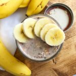 Mason Jar Peanut Butter & Banana Overnight Oats Recipe