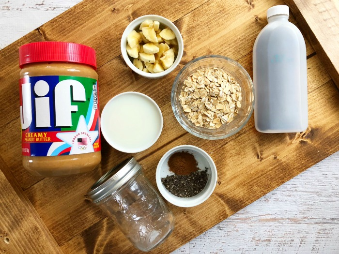 ingredients for overnight steel oats