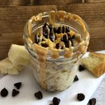 Mason Jar Peanut Butter & Chocolate Microwave French Toast
