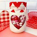 Valentine Mason jars