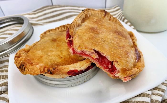 cherry Mason jar desserts