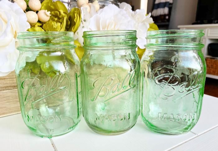 Diy Home Decor Crafts Tinted Mason Jars Mason Jar Breakfast