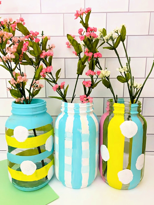 Mason jar Easter crafts